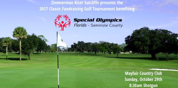 2017 Special Olympics Florida Seminole County Golf Classic