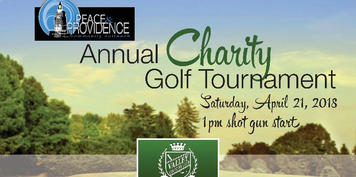 Peace and Providence Community Outreach Annual Charity Golf Tournament