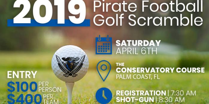 6th Annual Pirate Football Golf Scramble
